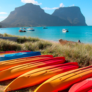 Experiences on Lord Howe Island