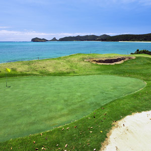 Golf on Lord Howe Island